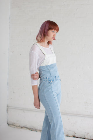 Ulla Johnson Claude Overalls in Ombre | Oroboro Store | Brooklyn, New York