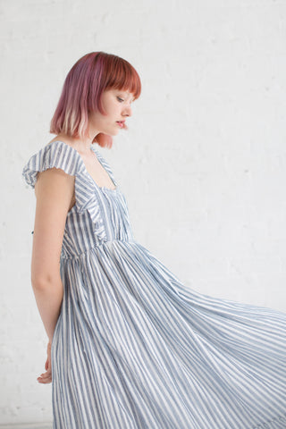 Ulla Johnson Ariane Dress in Marine Stripe | Oroboro Store | Brooklyn, New York
