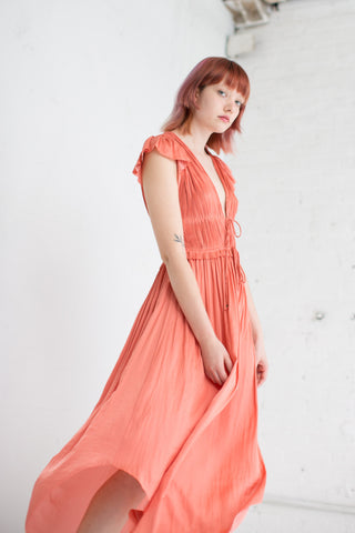 Ulla Johnson Kaiya Dress in Dahlia | Oroboro Store | Brooklyn, New York