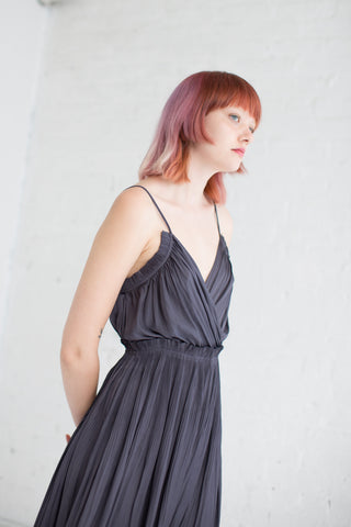 Ulla Johnson Galina Dress in Midnight | Oroboro Store | Brooklyn, New York