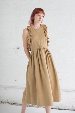 Cecily Dress in Khaki