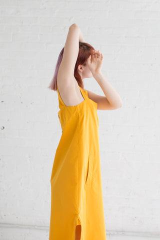 Studio Nicholson Romy Pinafore in Sunrise | Oroboro Store | Brooklyn, New York