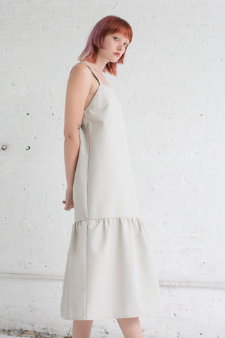 Delfina Balda OMS Dress in Ivory | Oroboro Store | Brooklyn, New York