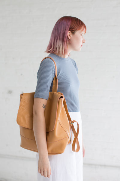 Room Backpack in Apricot