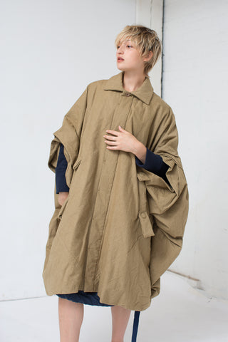 Bernhard Willhelm Coat in Olive | Oroboro Store | New York, NY