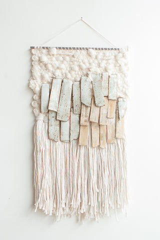 All Roads Stoneware Wall Hanging in Natural | Oroboro Store | Brooklyn, New York