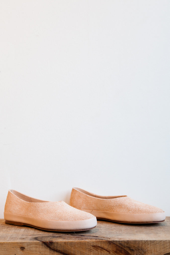 FEIT Hand Sewn Ballet Flat in Natural | Oroboro Store | Brooklyn, New York