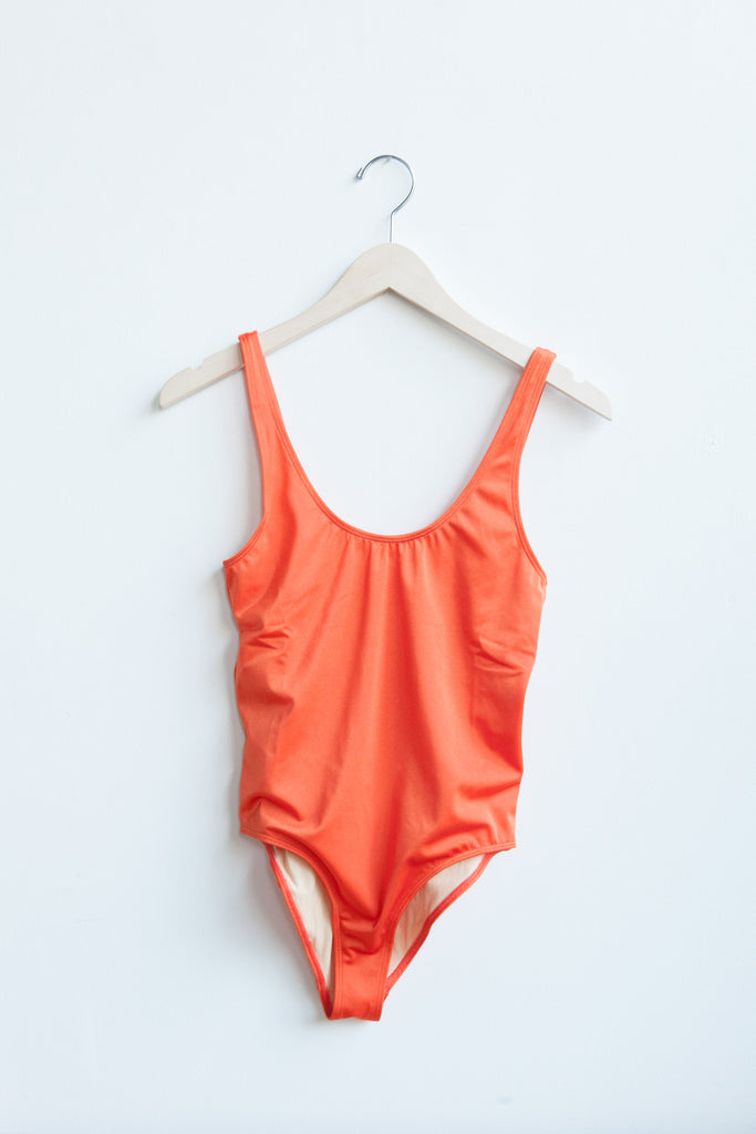 Base Range Palma Swimsuit in Fire Red | Oroboro Store | Brooklyn, New York
