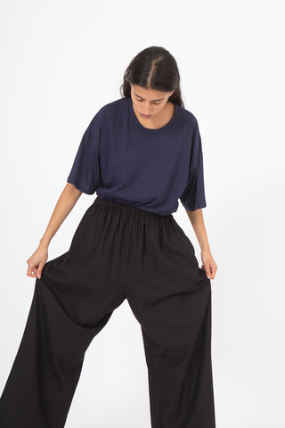 Baserange Honda Pants in Black | Oroboro Store | New York, NY