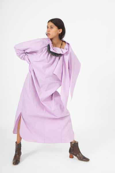 Toga Stretch Broad Dress in Pink | Oroboro Store | New York, NY