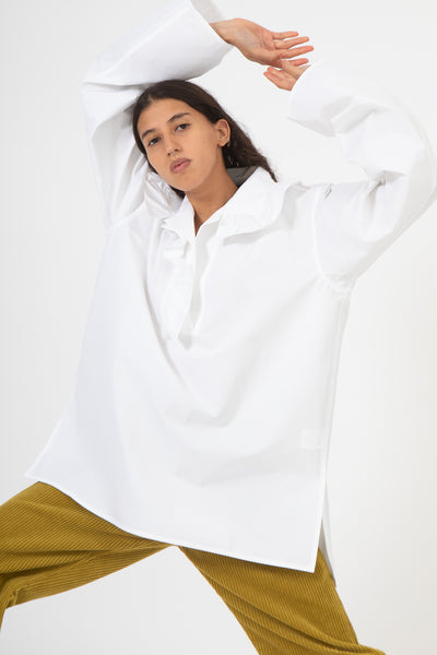 Sofie D'Hoore Balmoral Top in White | Oroboro Store | New York, NY