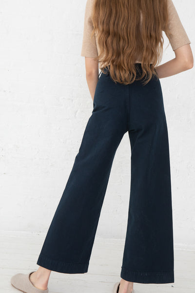 Jesse Kamm Sailor Pant in Midnight back view
