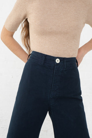 Jesse Kamm Sailor Pant in Midnight, Oroboro Store, New York, NY