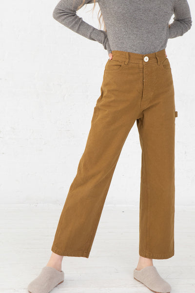 Jesse Kamm Handy Pant in Tobacco front view