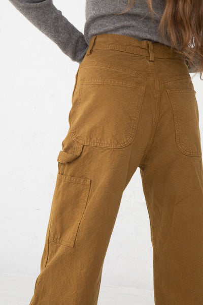 Jesse Kamm Handy Pant in Tobacco back view