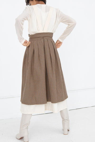 Tweed Skirt in Fawn