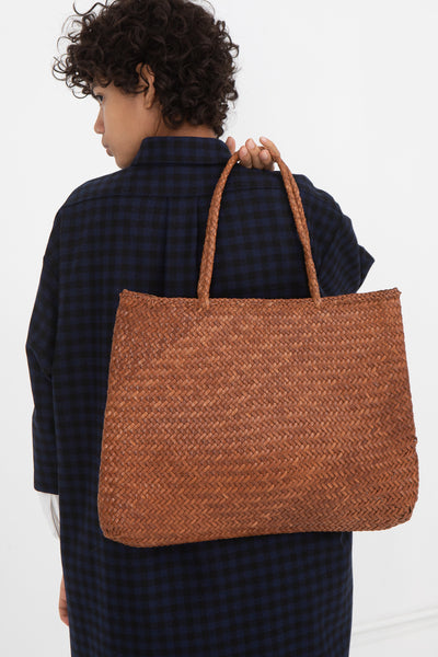 Sophie Large With Long Handles in Tan