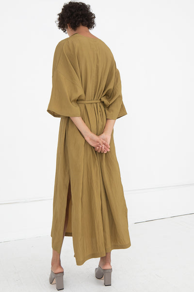 Shaina Mote Avignon Dress in Ochre | Oroboro Store | New York, NY