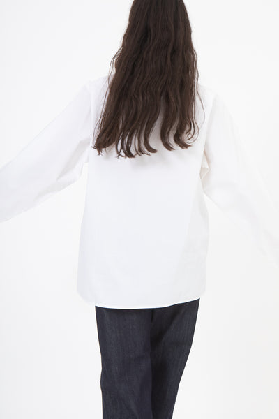 Sofie D'Hoore Betul Top in White, Back View
