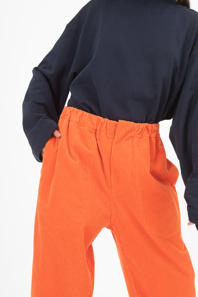 Sofie D'Hoore Pose Pant in Papaya | Oroboro Store | New York, NY