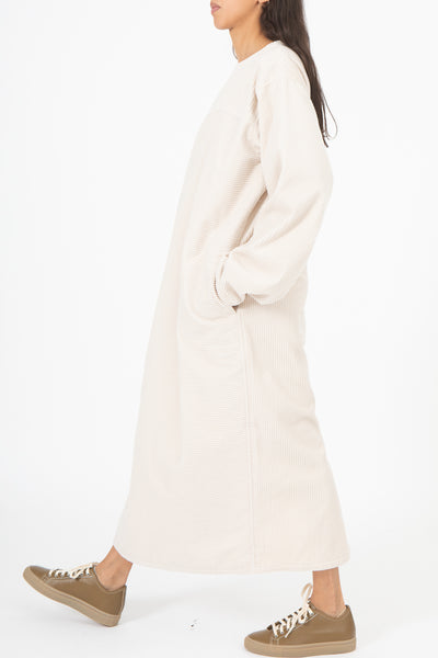 Sofie D'Hoore Duty Dress in Almond | Oroboro Store | New York, NY