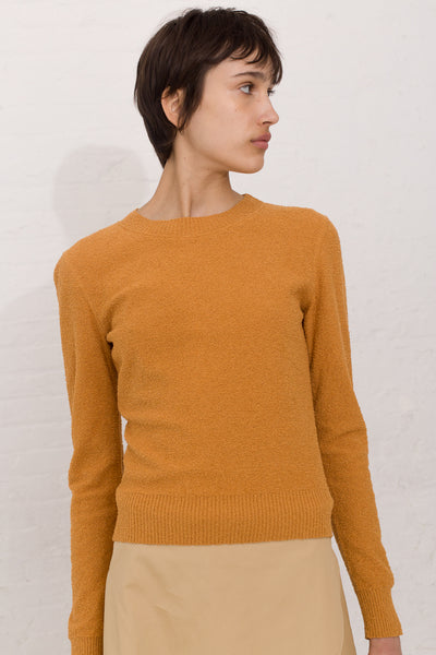 Veronique Leroy Boucle Top in Safran | Oroboro Store | New York, NY