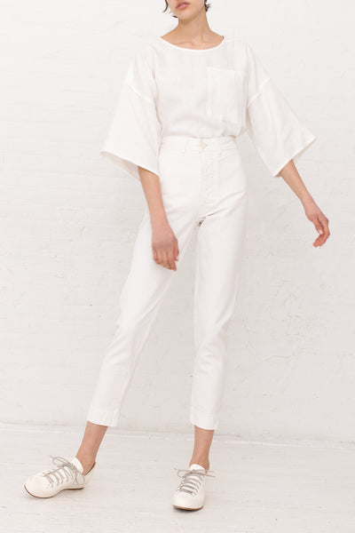 Jesse Kamm Ranger Pant in Salt White | Oroboro Store | New York, NY