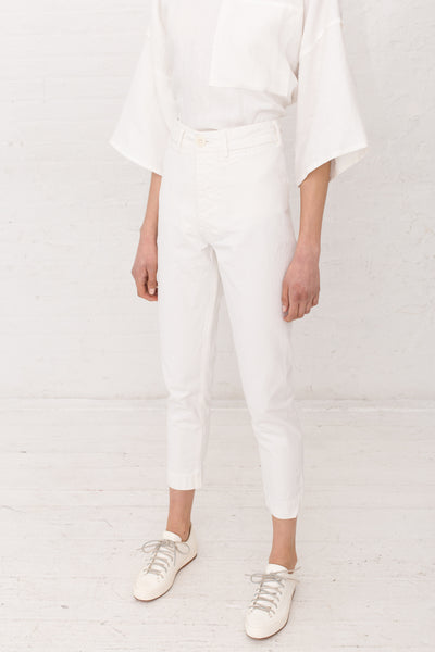 Jesse Kamm The Ranger Pant in Salt | Oroboro | New York, NY