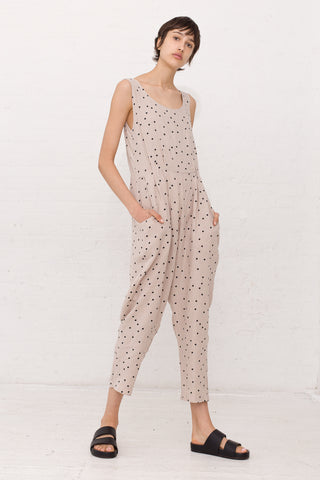 Black Crane Overall in Polka Dot | Oroboro Store | New York, NY