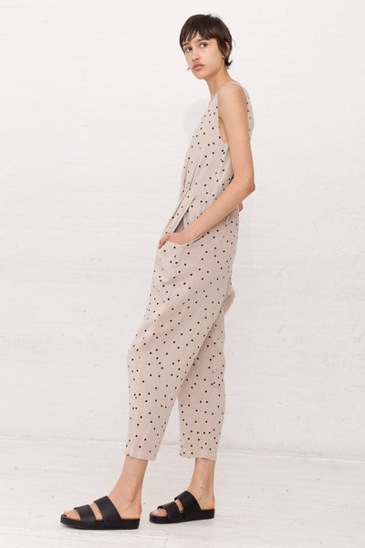 Overall in Polka Dot