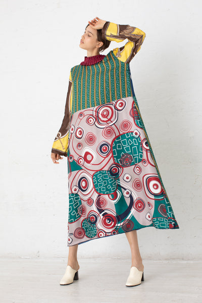 Bettina Bakdal Vintage Scarves Dress in The Euro Dress | Oroboro Store | New York, NY