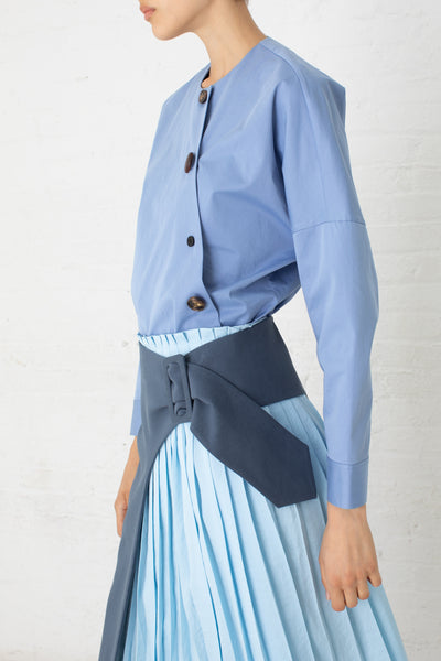 Rejina Pyo Renee Shirt in Blue | Oroboro Store | New York, NY