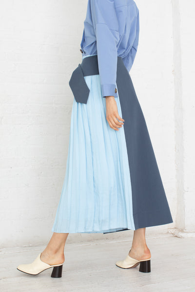 Rejina Pyo Linda Skirt in Blue | Oroboro Store | New York, NY