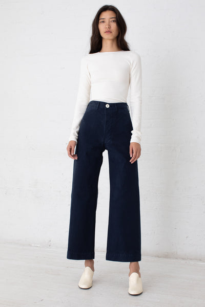 Jesse Kamm Sailor Pant in Midnight | Oroboro Store | New York, NY