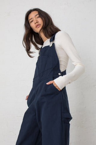 Jesse Kamm Overalls in Midnight | Oroboro Store | New York, NY