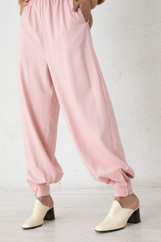 Baserange Aorta Pants in Lumbar Pink / Raw Silk | Oroboro Store | New York, NY