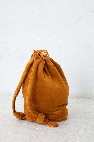 Baserange Houston Bag in Theta Brown / Velours | Oroboro Store | New York, NY