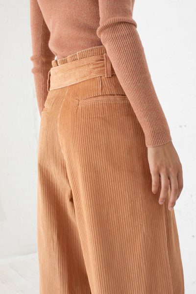 Rhodes Trouser in Camel | Oroboro Store | New York, NY