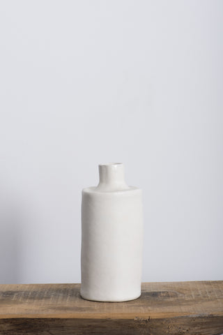 Paula Greif White Bottle | Oroboro Store | Brooklyn, New York