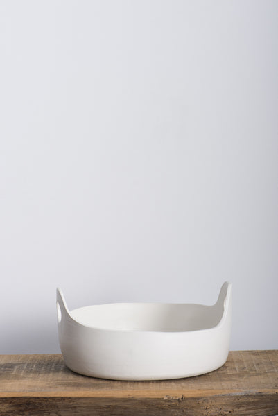 Paula Greif White Handle Bowl