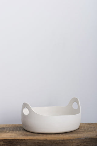 Paula Greif White Handle Bowl | Oroboro Store | Brooklyn, New York