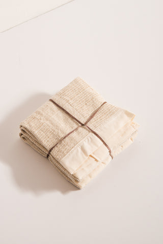 SIN Stripes Hand Towel in Natural | Oroboro Store | New York, NY