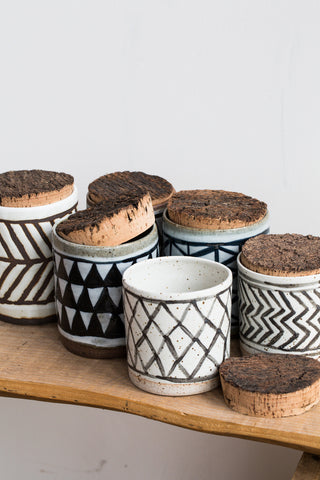 Patterned Canisters