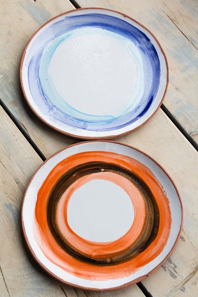 Painted Circles Platters