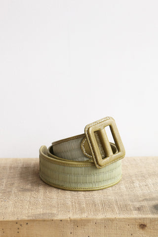 Eatable of Many Orders Tatami Belt in Green | Oroboro Store | Brooklyn, New York