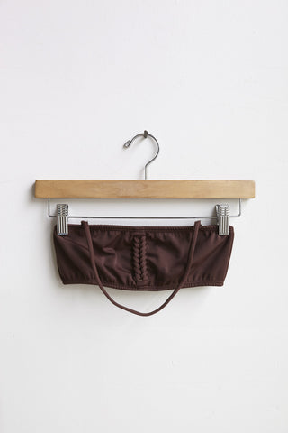 A Detacher Heather Bandeau Top in Mink | Oroboro Store | Brooklyn, New York