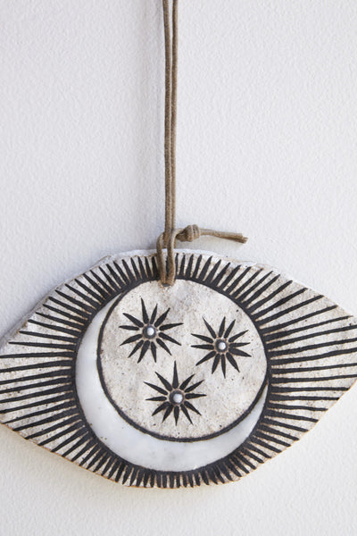 MQuan Dish in Eye Ornament in Crescent Moon | Oroboro Store | Brookyln, New York
