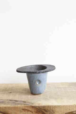 BZIPPY Small Planter in Blue | Oroboro Store | Brooklyn, New York