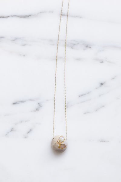 Jessica Winzelberg Mexican Opal Necklace | Oroboro Store | Brooklyn, New York