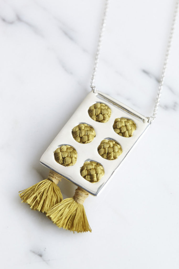 Erin Considine Plank Necklace | Oroboro Store | Brooklyn, New York